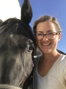 My horse and teacher, Annabell
