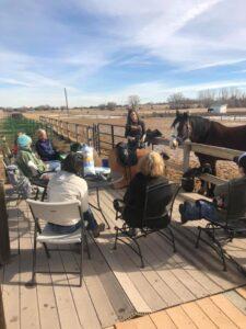 Hosting a saddle fitting workshop